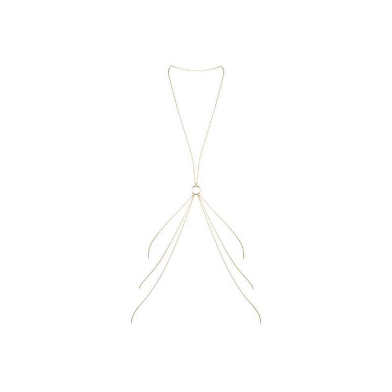 joyeria cadena corporal sexy magnifique 8 dorada bijoux indiscrets