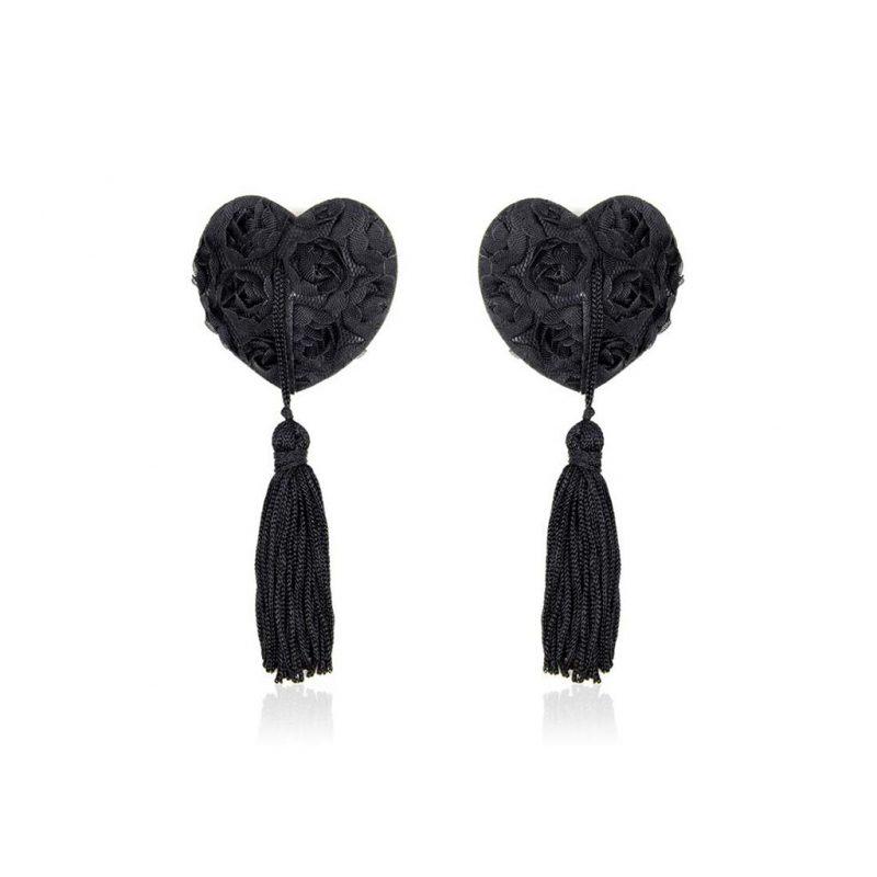 pezoneras burlesque corazon negras