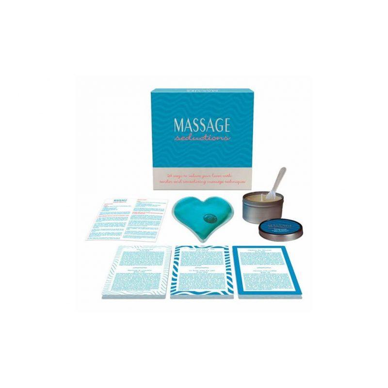 set seductions juego para parejas de masaje