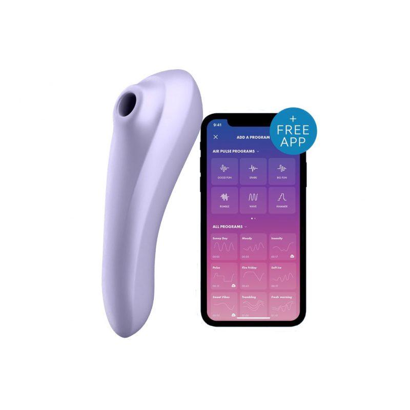 Satisfyer dual pleasure air pulse con app 1