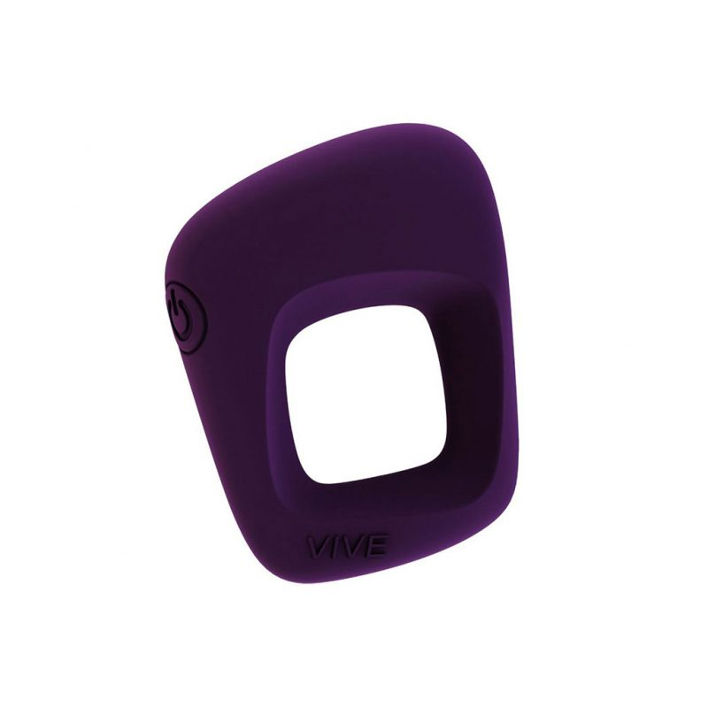anillo vibrador pene senca morado