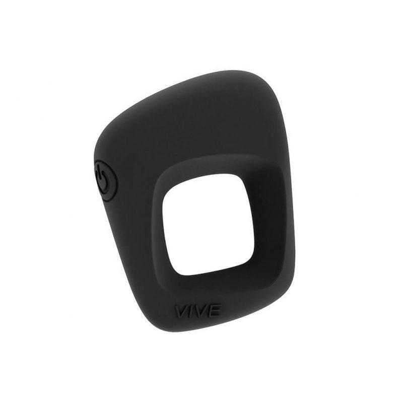anillo vibrador pene senca negro