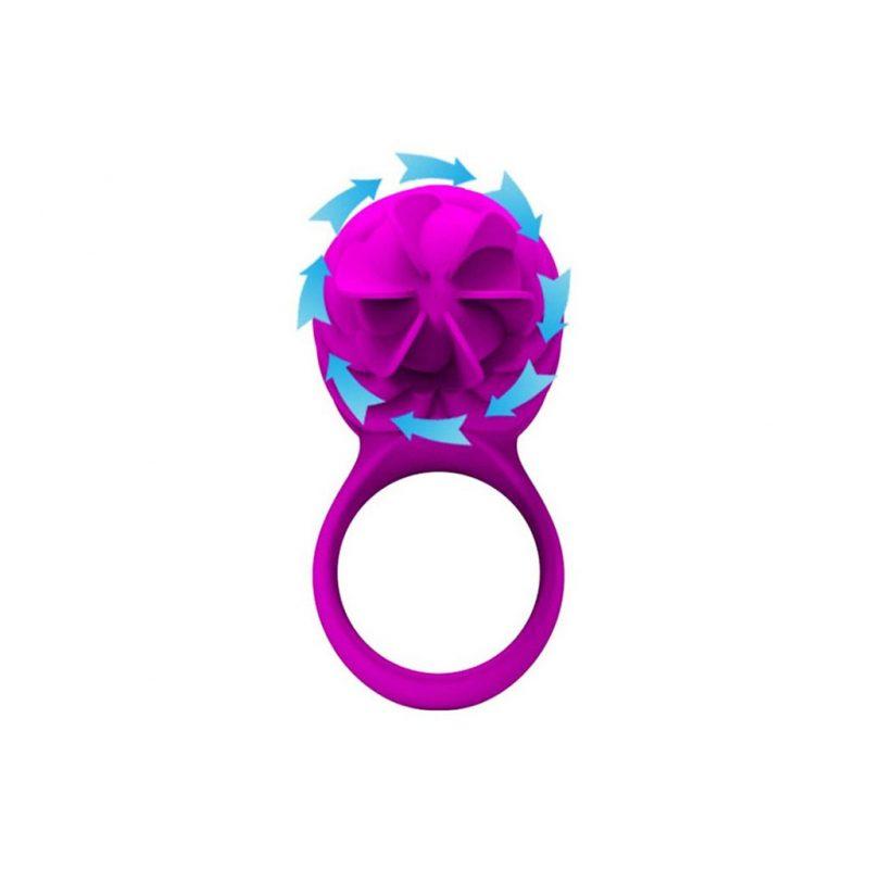 anillo vibrador y rotacion pene frances A