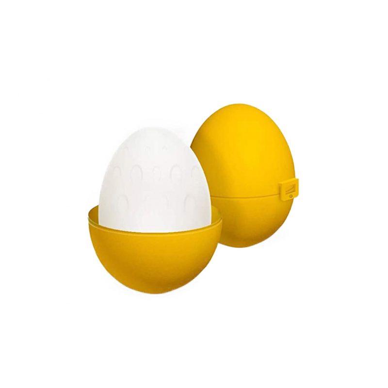 huevo masturbador reutilizable silicona up and go amarillo