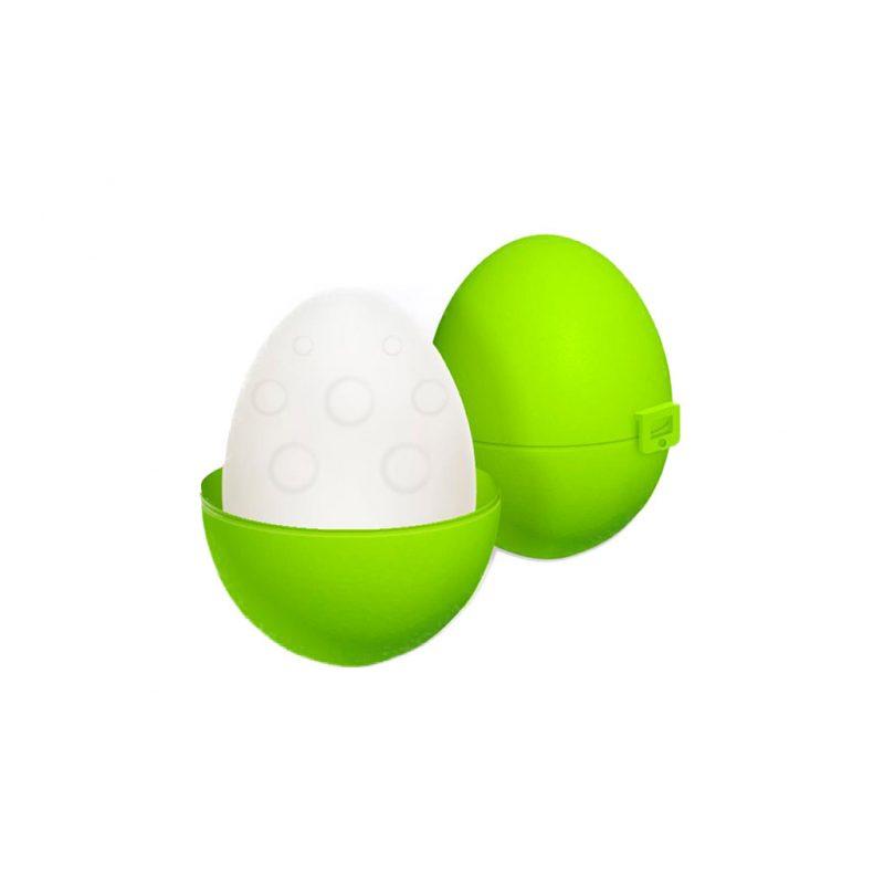 huevo masturbador reutilizable silicona up and go verde
