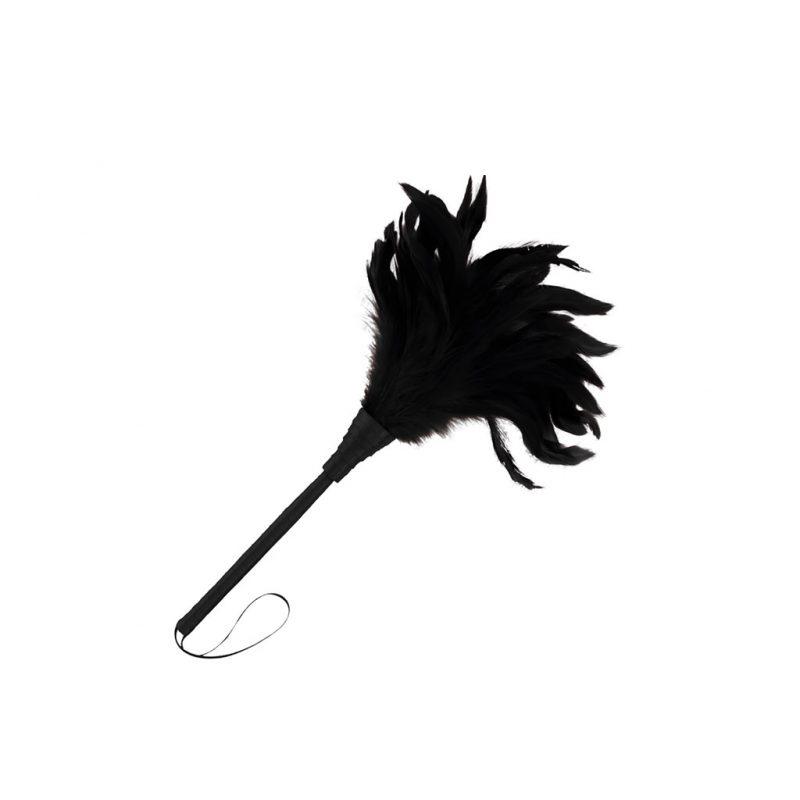 plumero estimulador negro