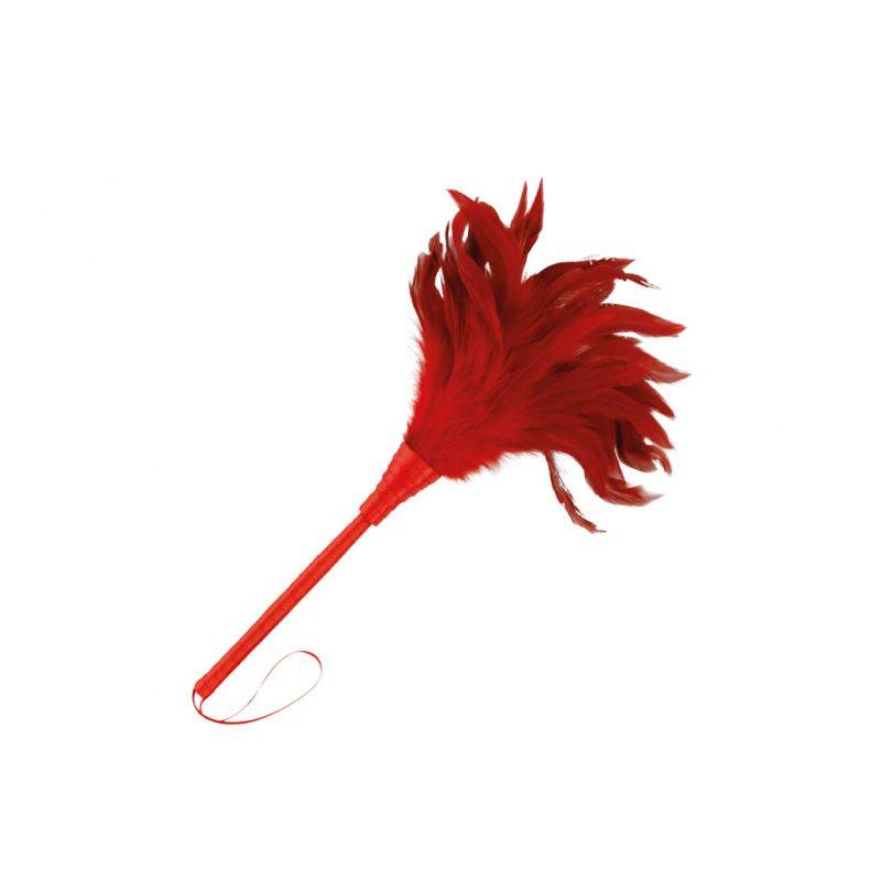 plumero estimulador rojo