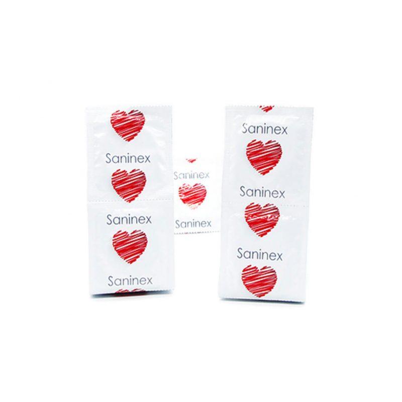 preservativos saninex 144 condones paquete 1