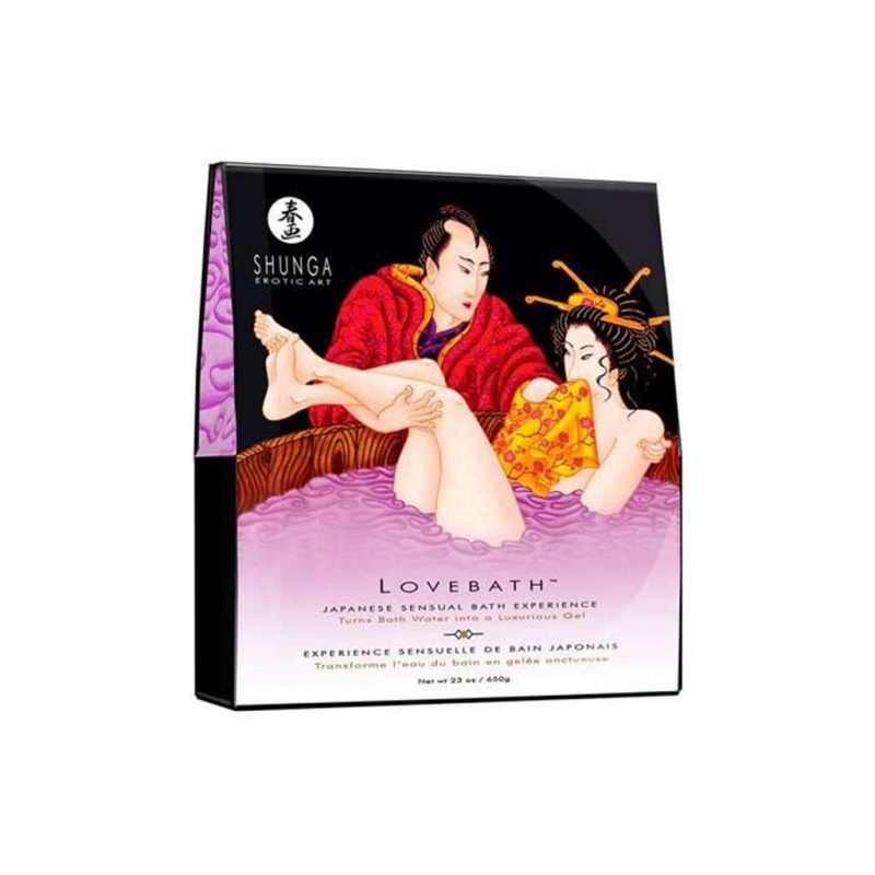 sales de bano love bath sensual lotus grande shunga