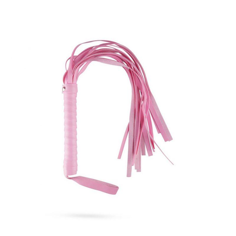 kit secret pink pleasure set de bondage rosa latigo