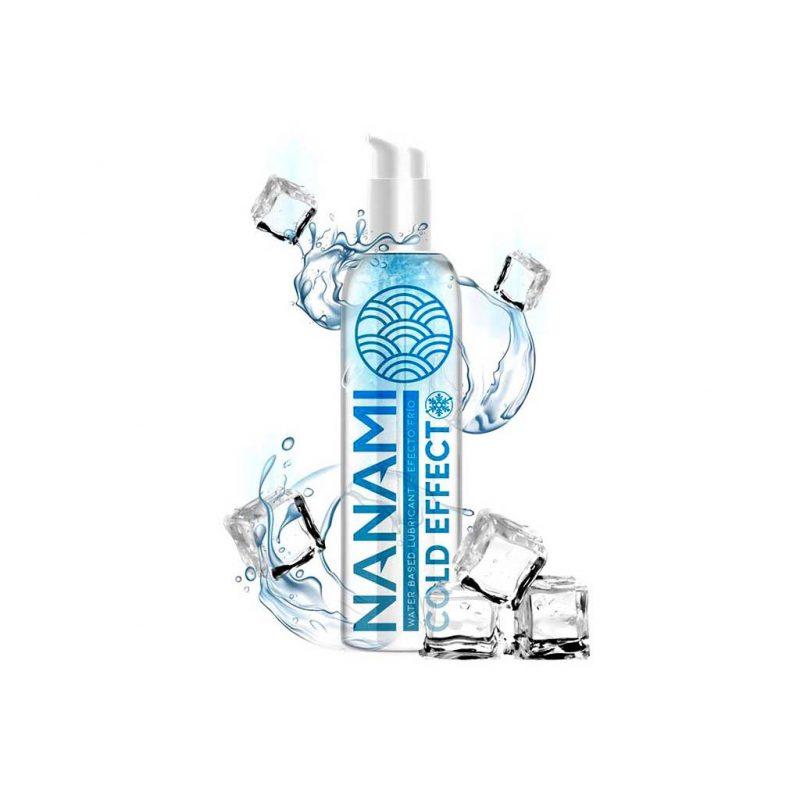 nanami lubricante efecto frio