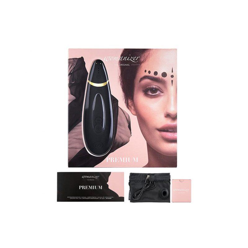 Womanizer Premium Succionador de Clitoris negro 3