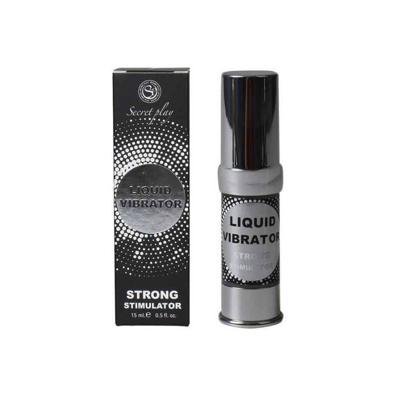vibrador liquido strong estimulador unisex secret play