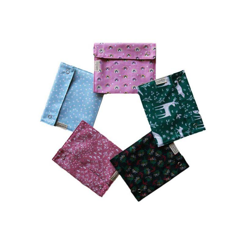 bolsas para transportar compresas de tela